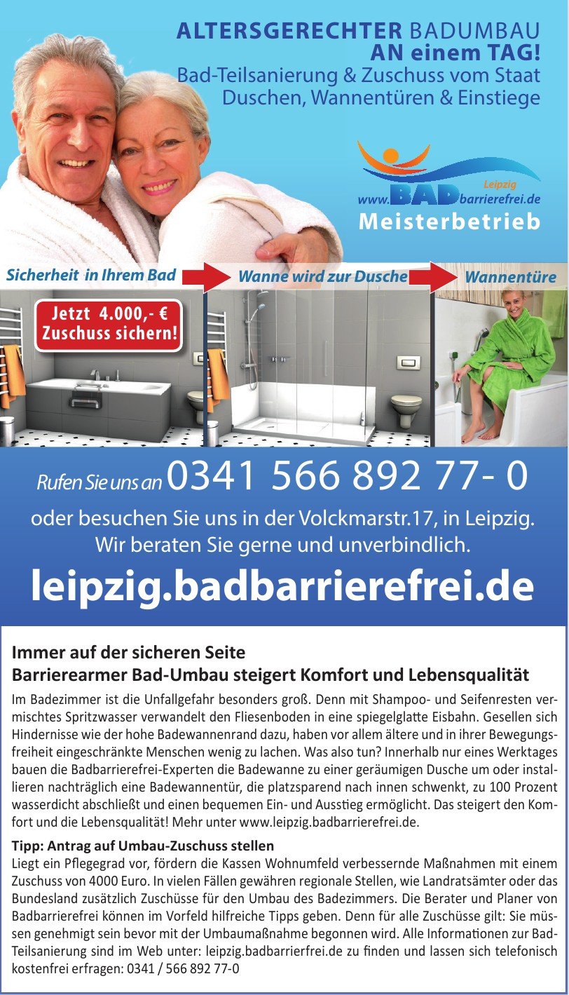3A-BAD barrierefrei Leipzig GmbH & Co. KG