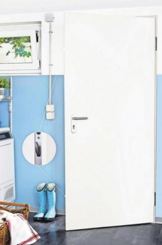 Sicherheitstüren mit Mehrfachverriegelung eignen sich als Kellerausgangs-, Garagenverbindungs-, Heizungsraum- oder Außentür.Foto: djd/Novoferm.com